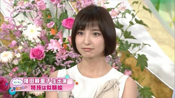 ファッションモデル篠田麻里子のパンチラ放送事故、ビキニ水着画像「特技は似顔絵」