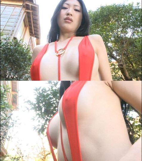 グラビアアイドル壇蜜の全裸ヌードでおっぱい揉まれてる輪姦SEXエロ画像