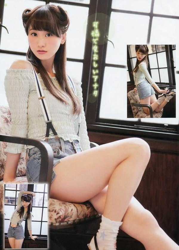 SKE48を卒業する松井玲奈の白いビキニ水着が透けて見えるエロ画像
