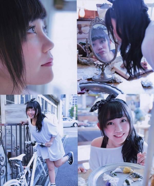 NMB48薮下柊のビキニ水着画像、「イタズラされたらドキドキしちゃう!?」