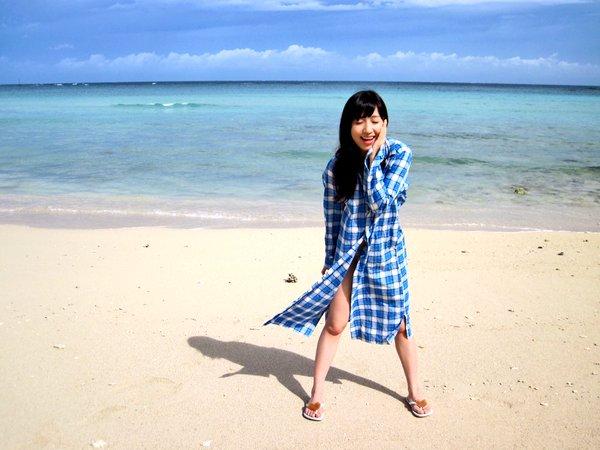 水着グラビアDVD発売するAKB48片山陽加のビキニ水着画像「ドキドキでしたけど、 3日間かけて宮古島で撮ってきたました! 」